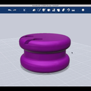 Design an Ear Bud Holder Using Autodesk 123D Design
