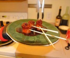 Bacon Lollipops / Bacon Roses the original recipe