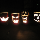 Pumpcans (Pop Can Jack-O-Lanterns)