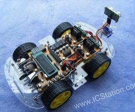 Android Smart Phone Bluetooth Remote Control Intelligent Smart Car 51 MCU (STC89C52 Code)