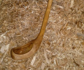 Carving a Wood Ladle