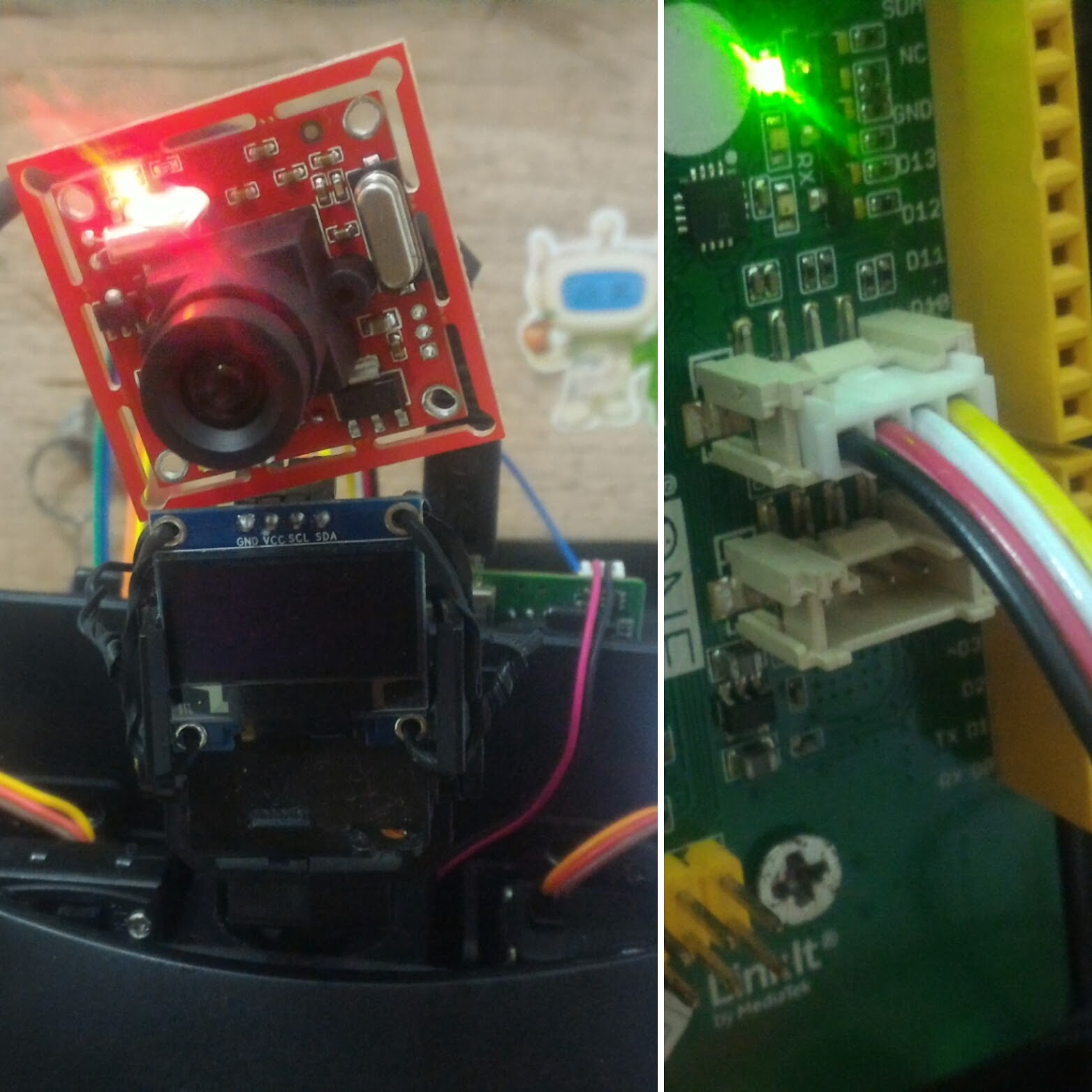 Picture of Grove Serial Camera With Linkit ONE