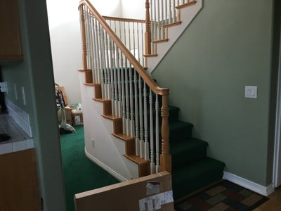 Before and After Photos - Stairs Complete