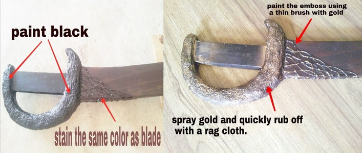 Blade Gard and Embellishments