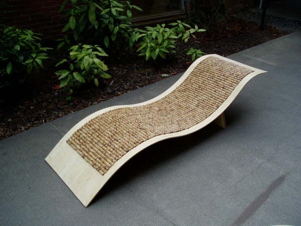 Chaise Lounge Rattan Sintetico.Bamboo Chaise Lounge Chair 5 Steps With Pictures