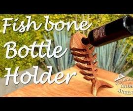 Cool Fish-Bone Bottle Holder