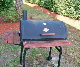Upcycle a Discarded Grill/Smoker to a Fun Planter Box(updated)