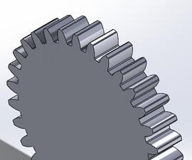Modeling a Spur Gear for 3D Printing Applications
