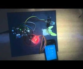 Arduino/Android BLUETOOTH - 28BYJ 48 Stepper Motor curtain control APP