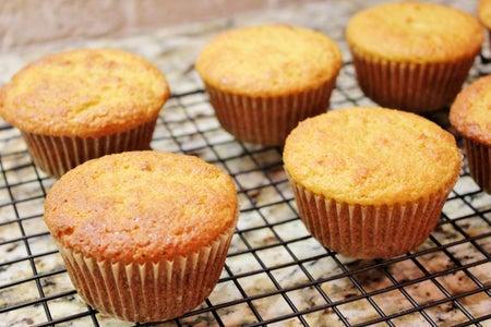 Orange Juice Muffins With Orange Honey Cream (gluten/grain/nut Free)