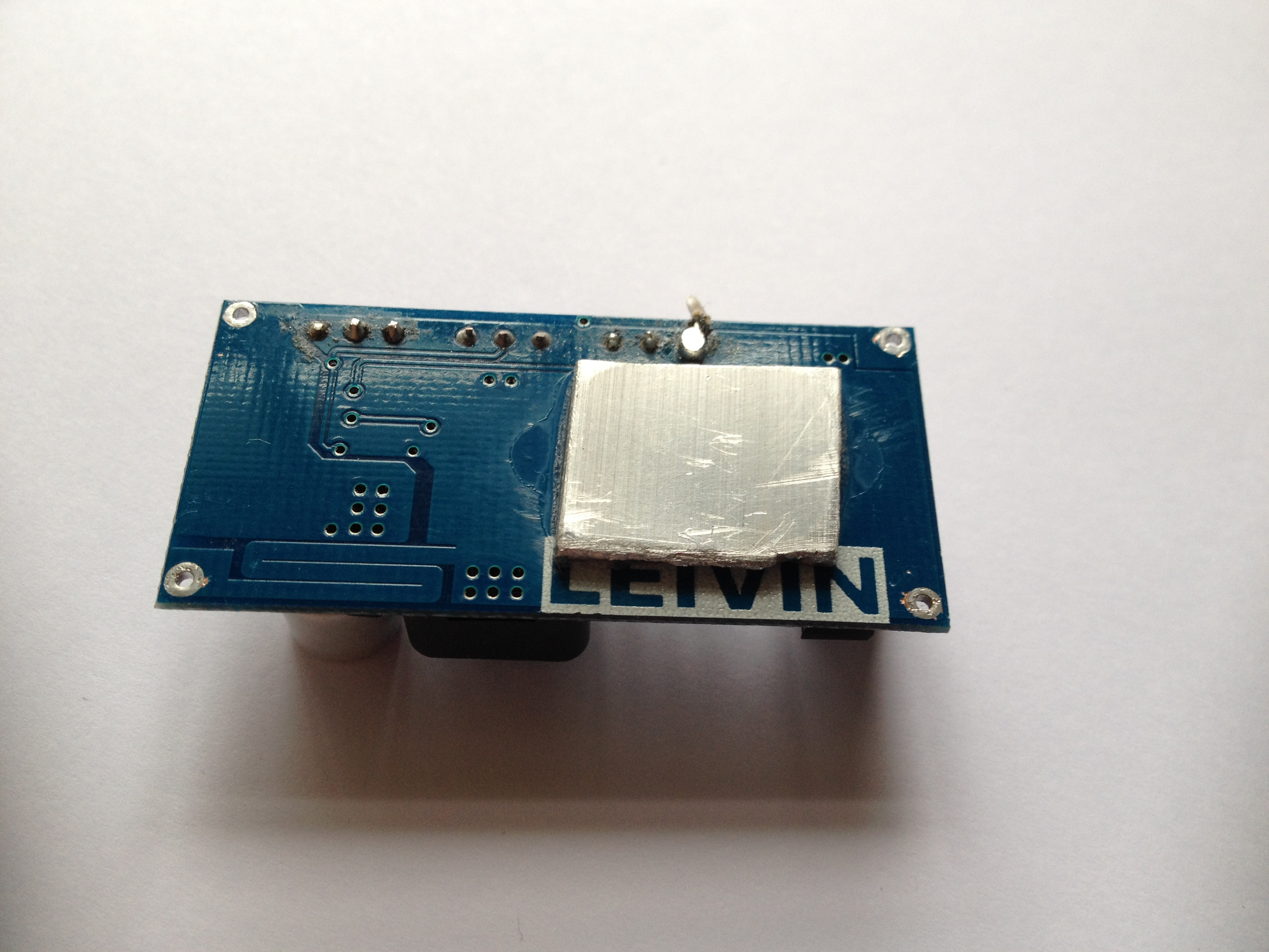 Picture of Heat-sink for the DC-DC Converter