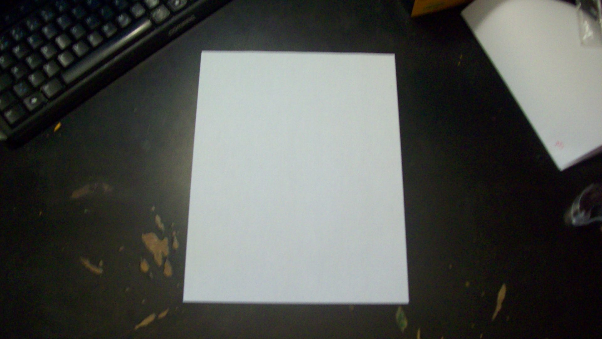 Picture of Folding a Little and Cutting