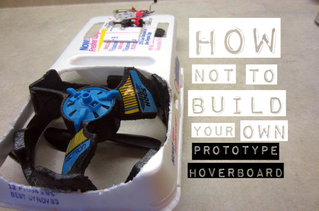 Picture of Making a Mini Prototype Hoverboard