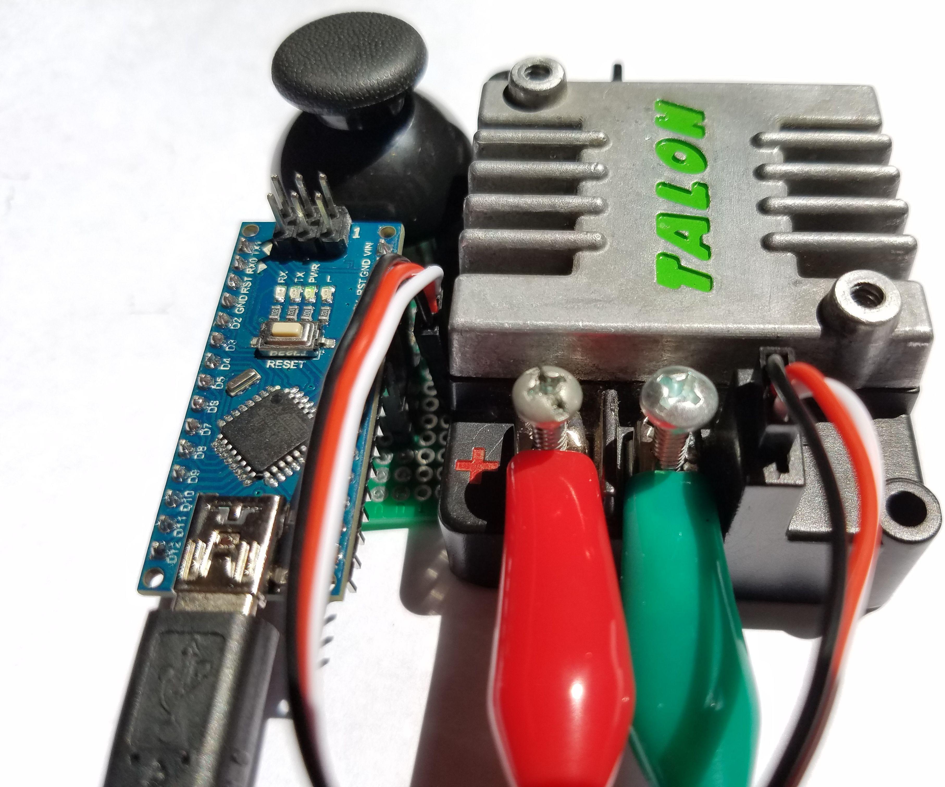 EASY VERSION: Cheap Arduino Thrifty Throttle (PWM Generator