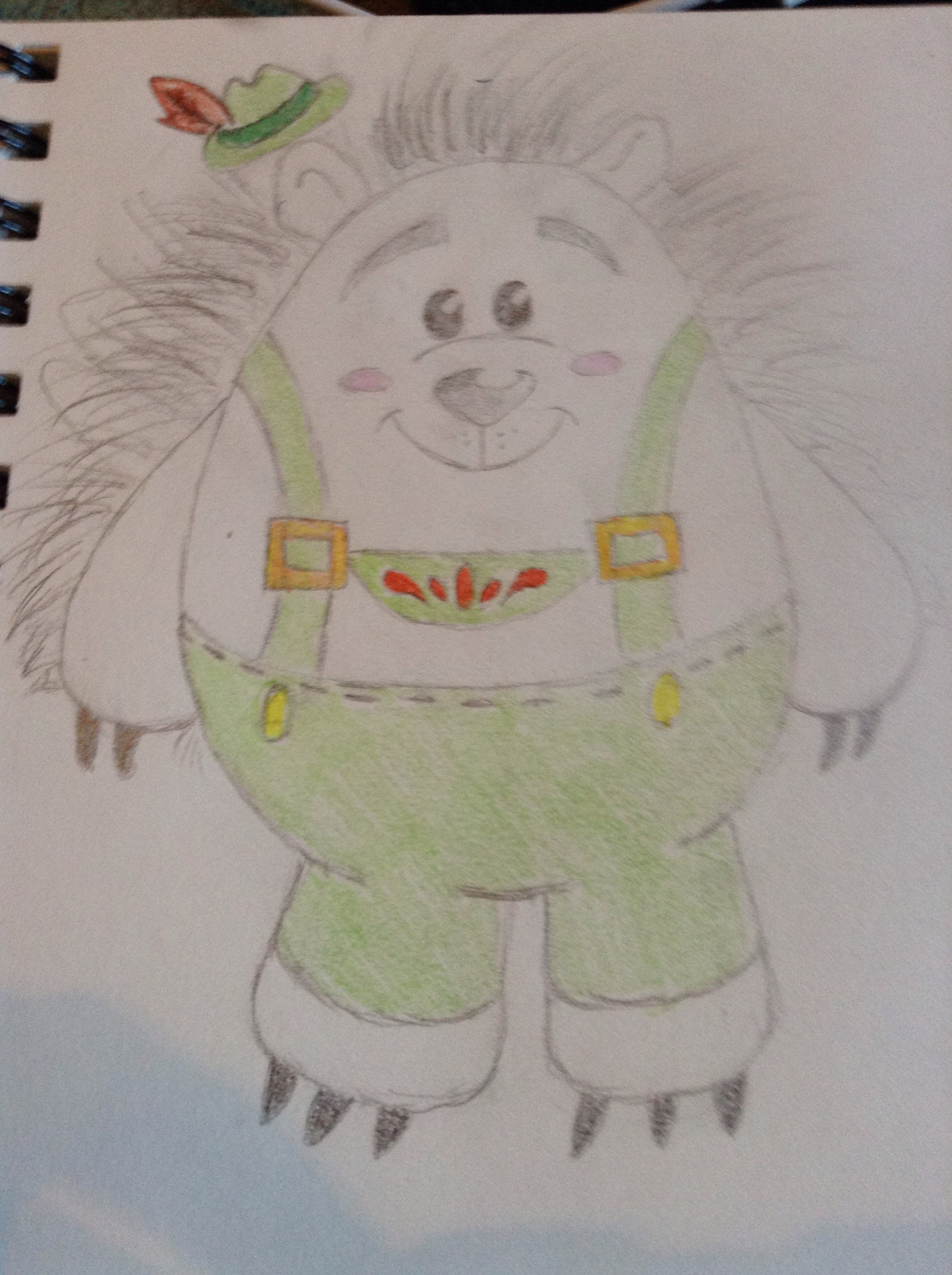 Picture of How to Draw Mr. Pricklepants