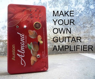 Portable and Recycled Guitar Amplifier