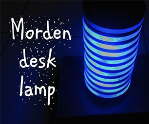 How to Make Modern Desk Lamp