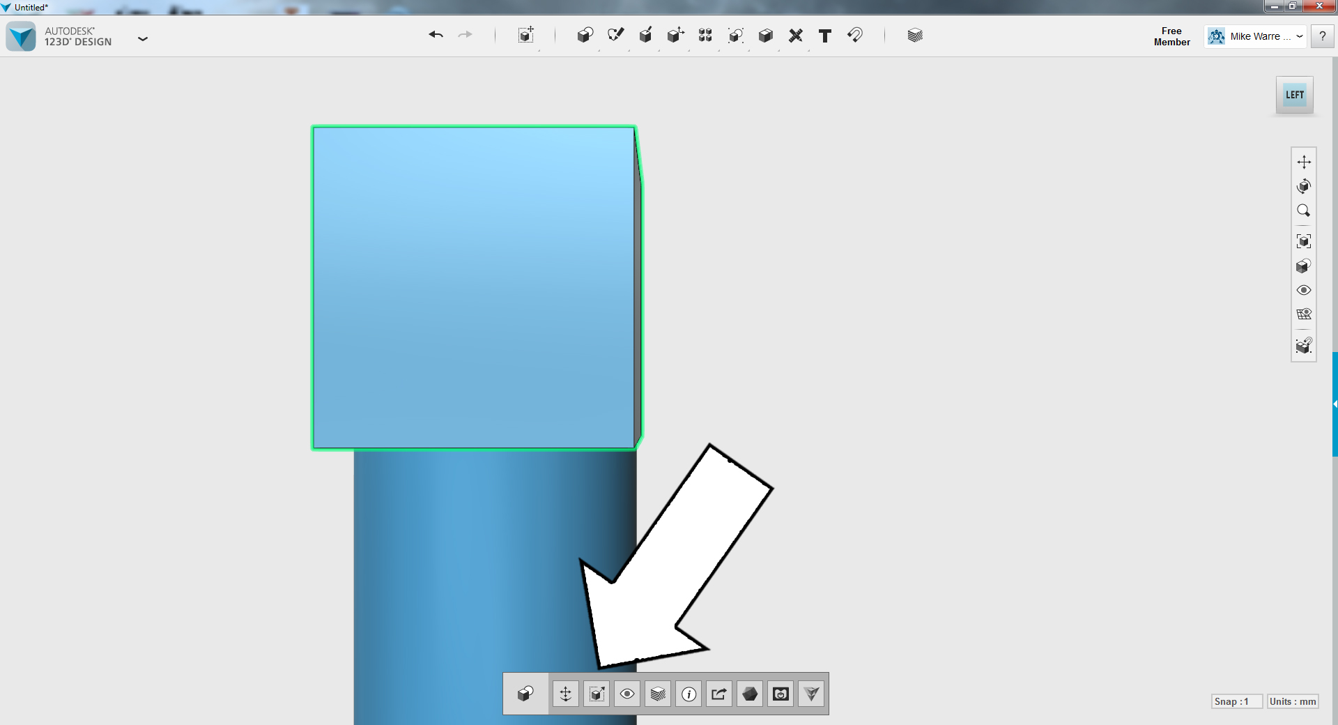 Picture of TinkerCAD - Channel Opening Part 2