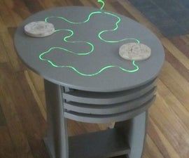 Sci-fi, Jetsons side table