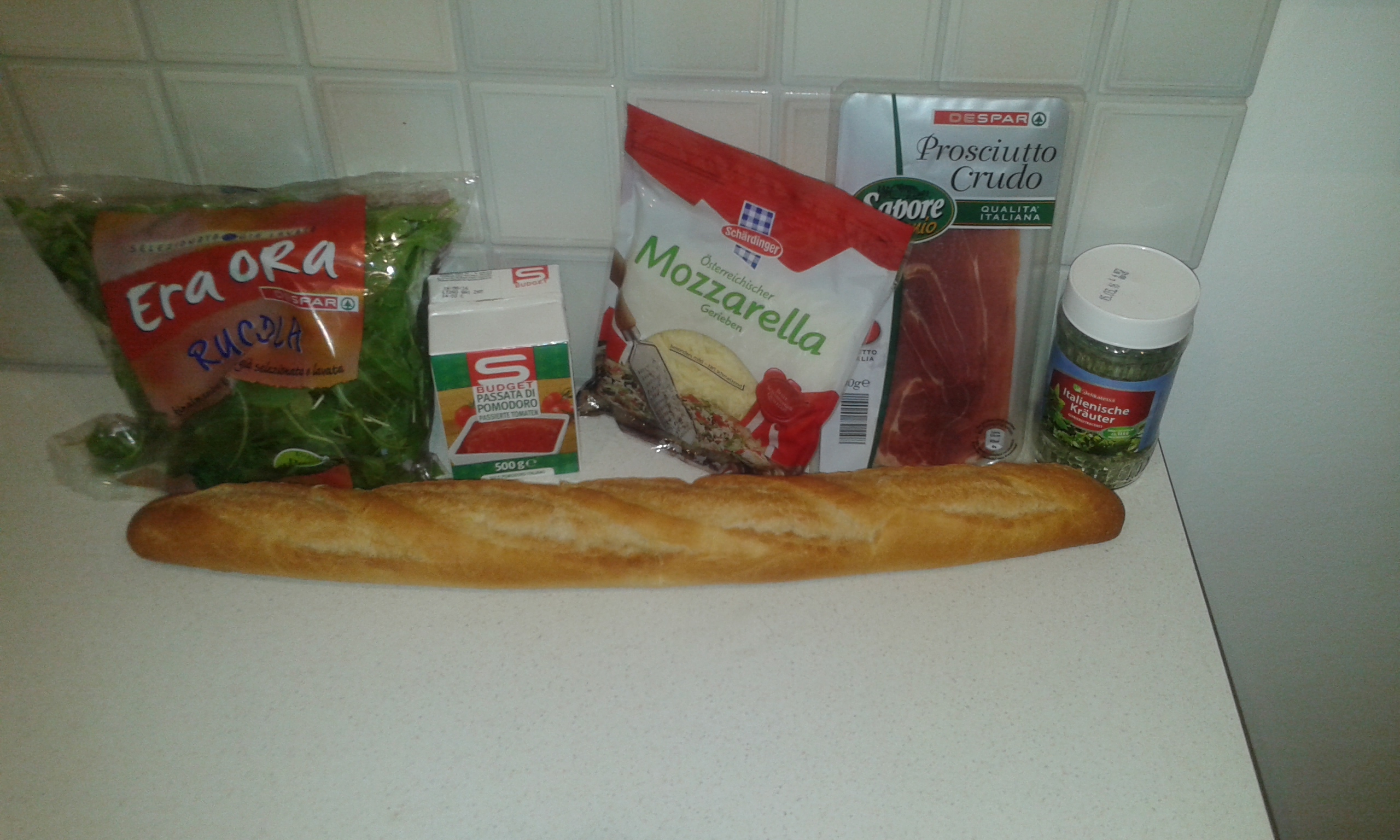 Picture of Pizzabaguette