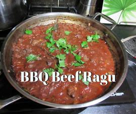 Slow Cooked BBQ Beef Ragu