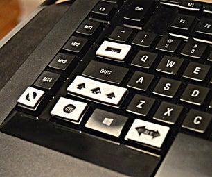 Tactile Keyboard Hack