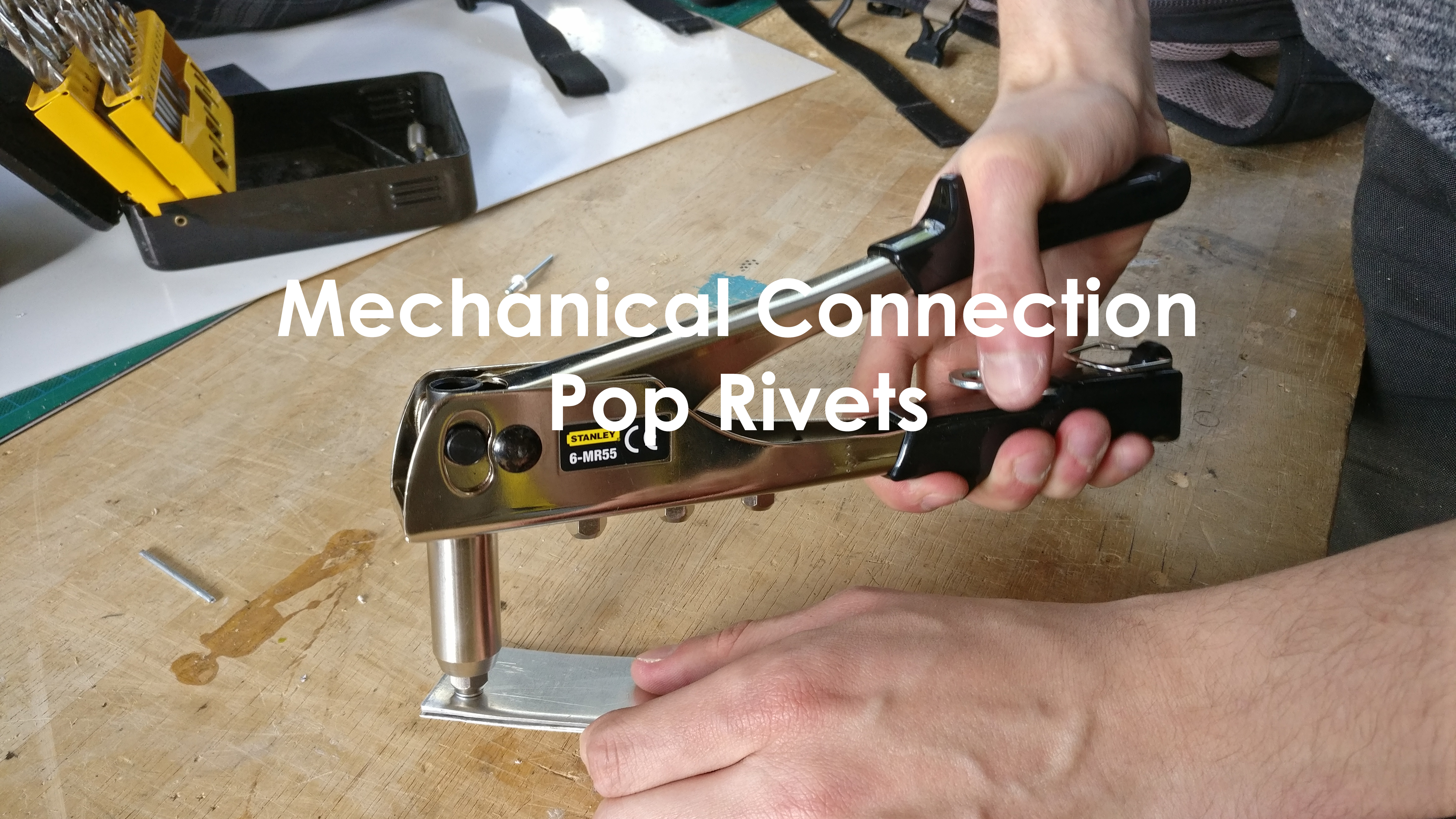Picture of Mechanical Connection: Pop Rivets Werkplaatsidc