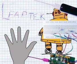 LeapTek : Leap Motion Interface with MediaTek LinkIt ONE Board!