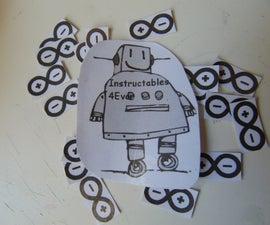 Homemade stickers, my way