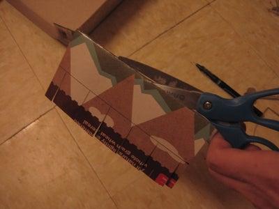 Cut the Two Halves Apart