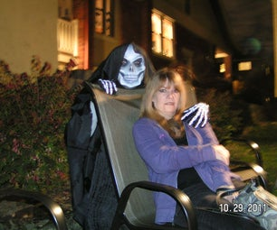 Handmade Iconic Skull Mask Death Costume for Halloween