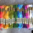 Organize an unreasonable number of embroidery floss colors