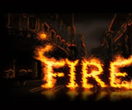 How to Make a Fire Effect in Photoshop
