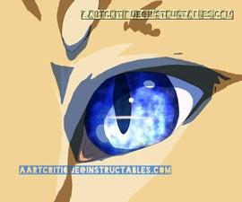 How to Draw a Cat Eye (manga or anime)