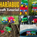 DIY: Felt Charjabug Pokemon Plush Tutorial | Free Pattern!