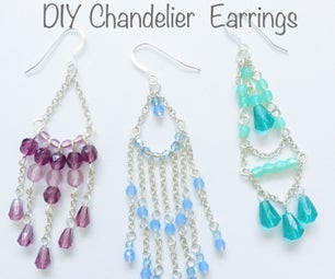 Beginners Guide to DIY Chandelier Earrings
