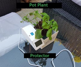 Pot Plant Monitor Powered by Arduino