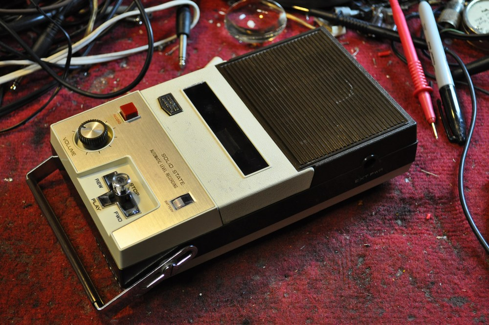 Picture of How to Revive a Craig 2603 Cassette Recorder