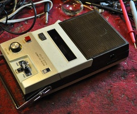 How to Revive a Craig 2603 Cassette Recorder