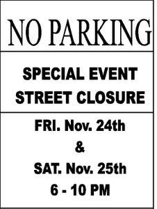 Hang -- and Enforce -- Those No Parking Signs