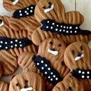 Chewbacca Gingerbread Cookies