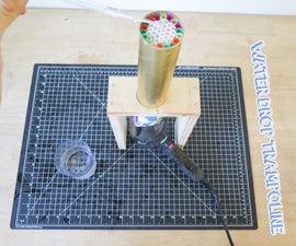 Water Drop Trampoline