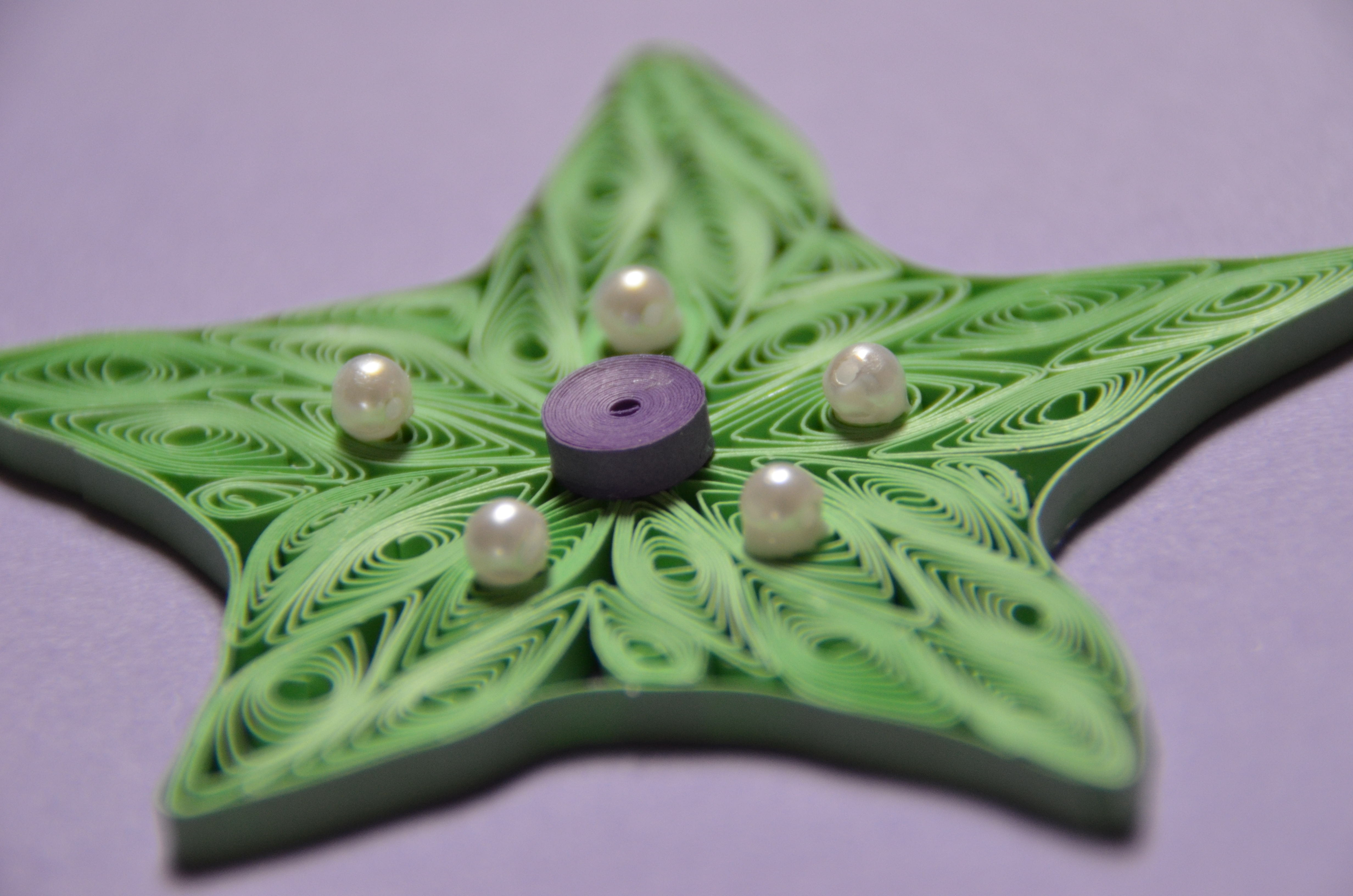 Picture of Paper Quilling Star
