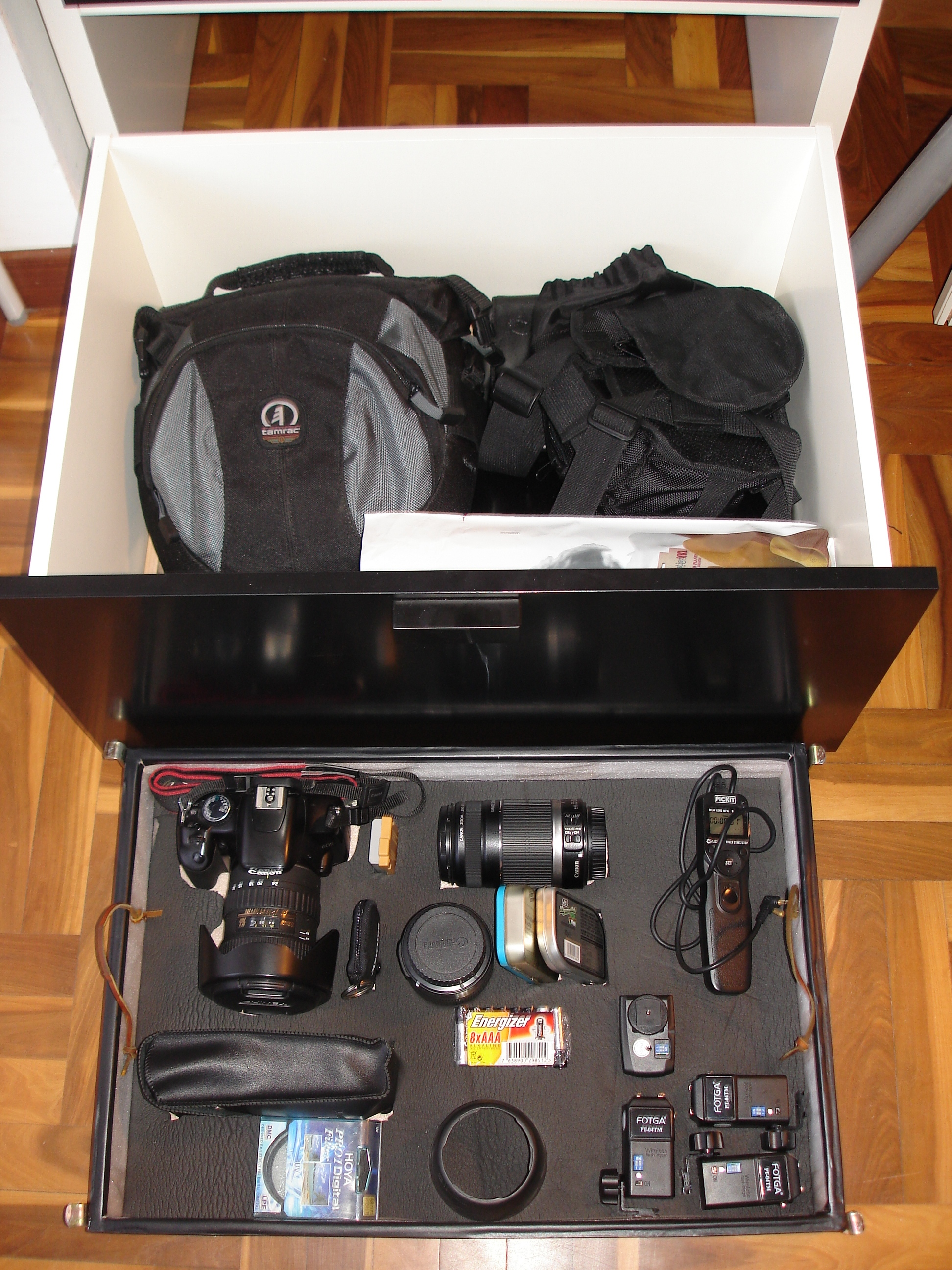 Picture of IKEA HACK - Camera Gear Drawer