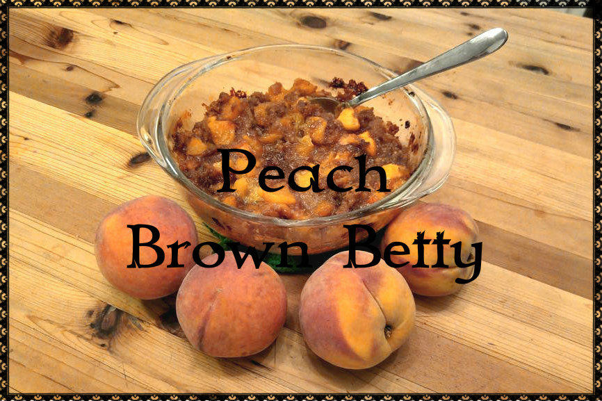 Picture of Peach Brown Betty