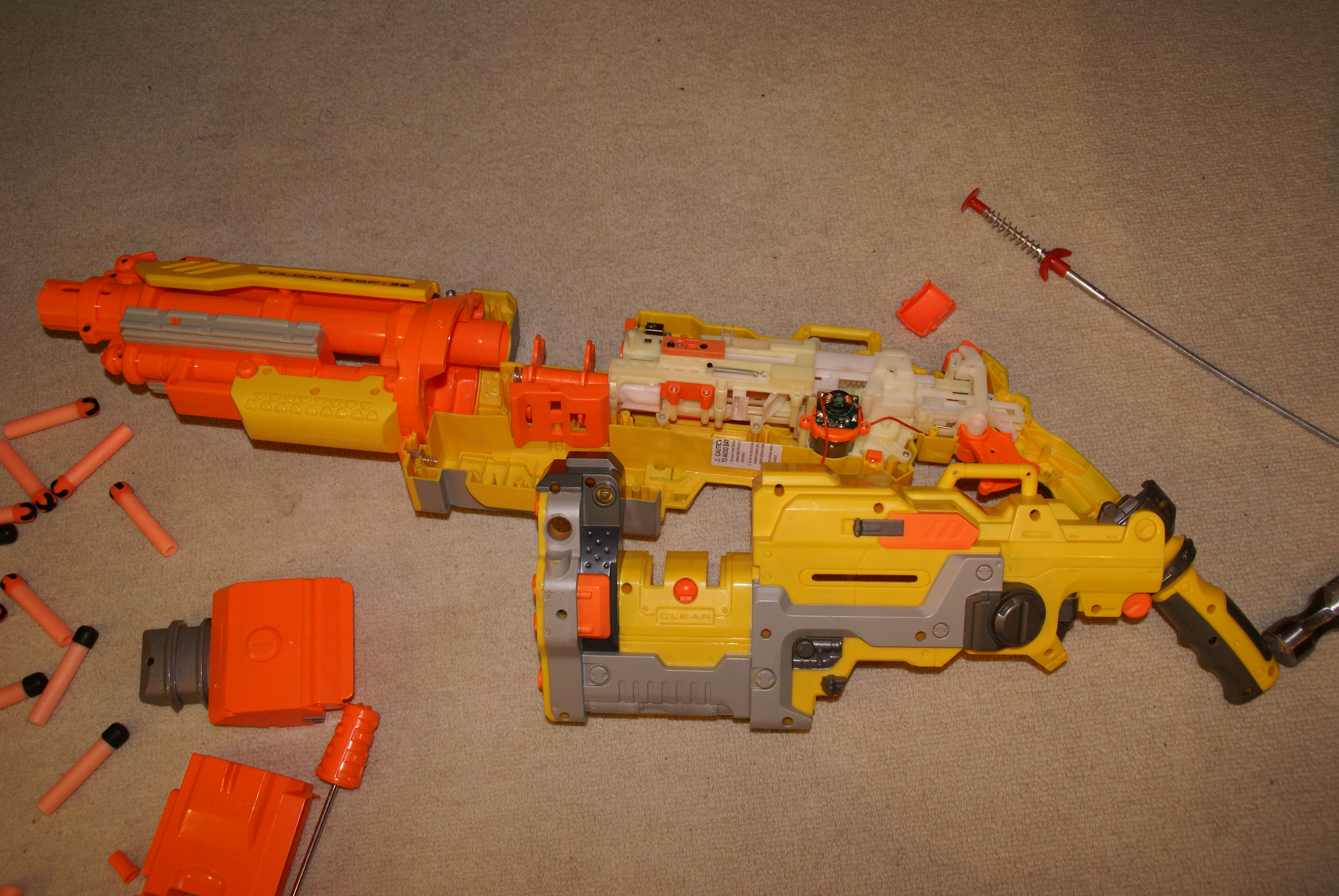 Picture of GUN DISASEMBLY Part Two