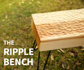 Power Carved Ripple Bench