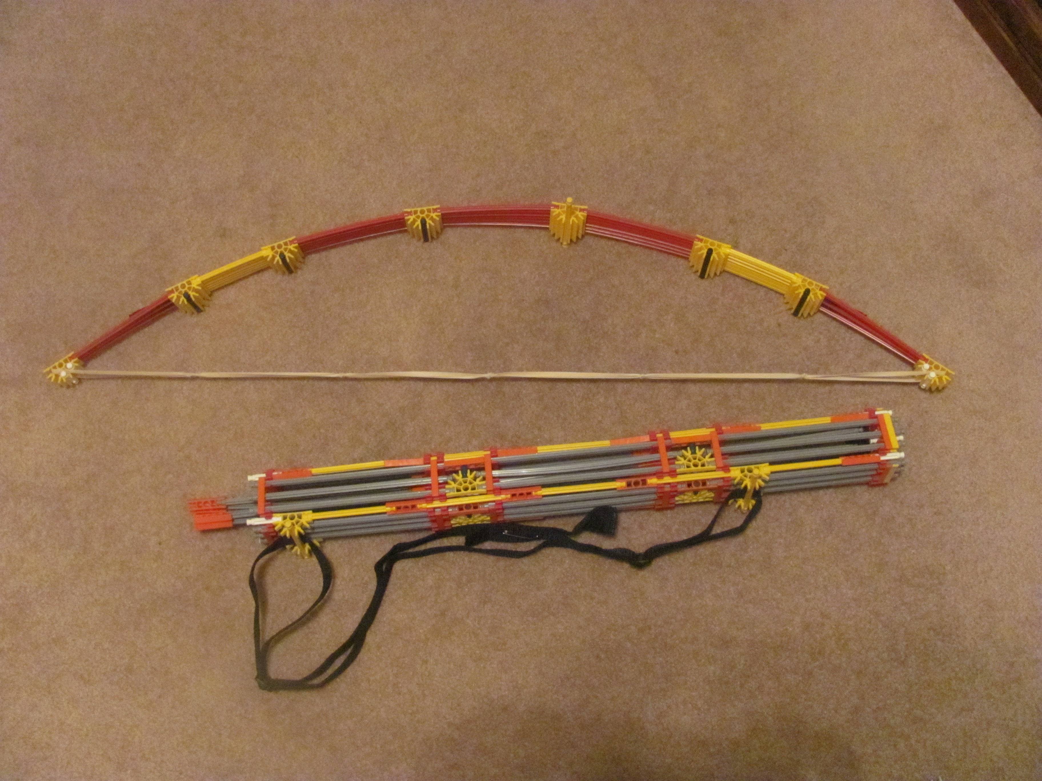 Picture of K'nex Assassin's Creed Bow and Arrow With Quiver