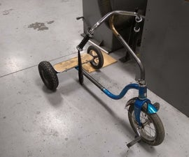 Afternoon Build, Stretch Trike From Kids Tricycle
