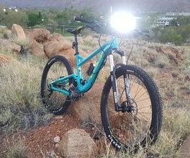 Mountain Bike LED Light Bar W/ Makita Battery